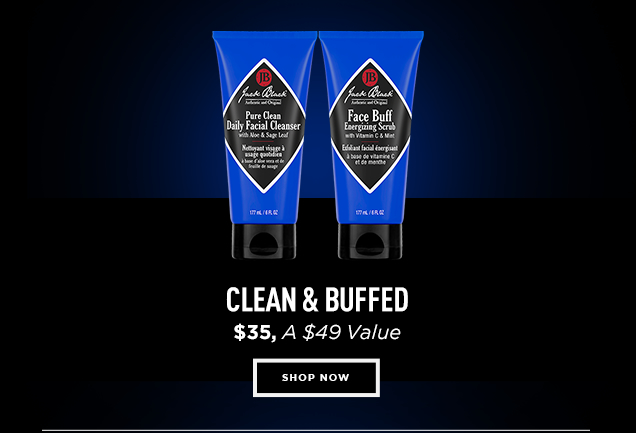 CLEAN & BUFFED, $35. A $49 Value. Shop Now
